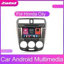 ZaiXi For Honda City 2008~2013 Android Car GPS Multimedia player 2 Din WIFI Navigation Autoradio Radio Maps BT FM
