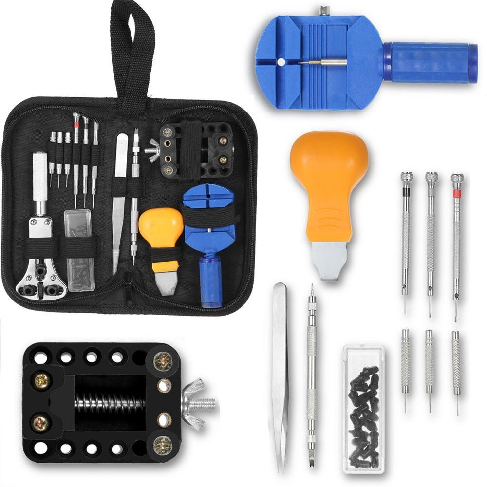 Uhr Reparatur Werkzeug Kit Fall Opener Band Link Pin Remover Uhrmacher Horloge Gereedschap Uhren Werkzeuge Für Fossil Rolex_watch Reparatur-werkzeuge & Kits
