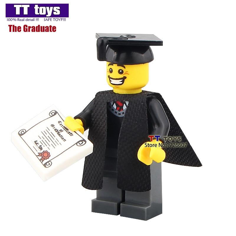 PG930 Limited Edition Graduates Imperial Guard Dolls Assemble s Building Blocks Bricks Education Learning Kids Toys
