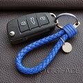 ИСКУССТВЕННАЯ кожа Строка стайлинга автомобилей key chain брелок держатель для audi для BMW VW polo golf для Opel astra h g для Ford, для FIAT 500