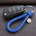 PU leather String car styling key chain keyring holder for audi for BMW VW polo golf for Opel astra h g for Ford for FIAT 500