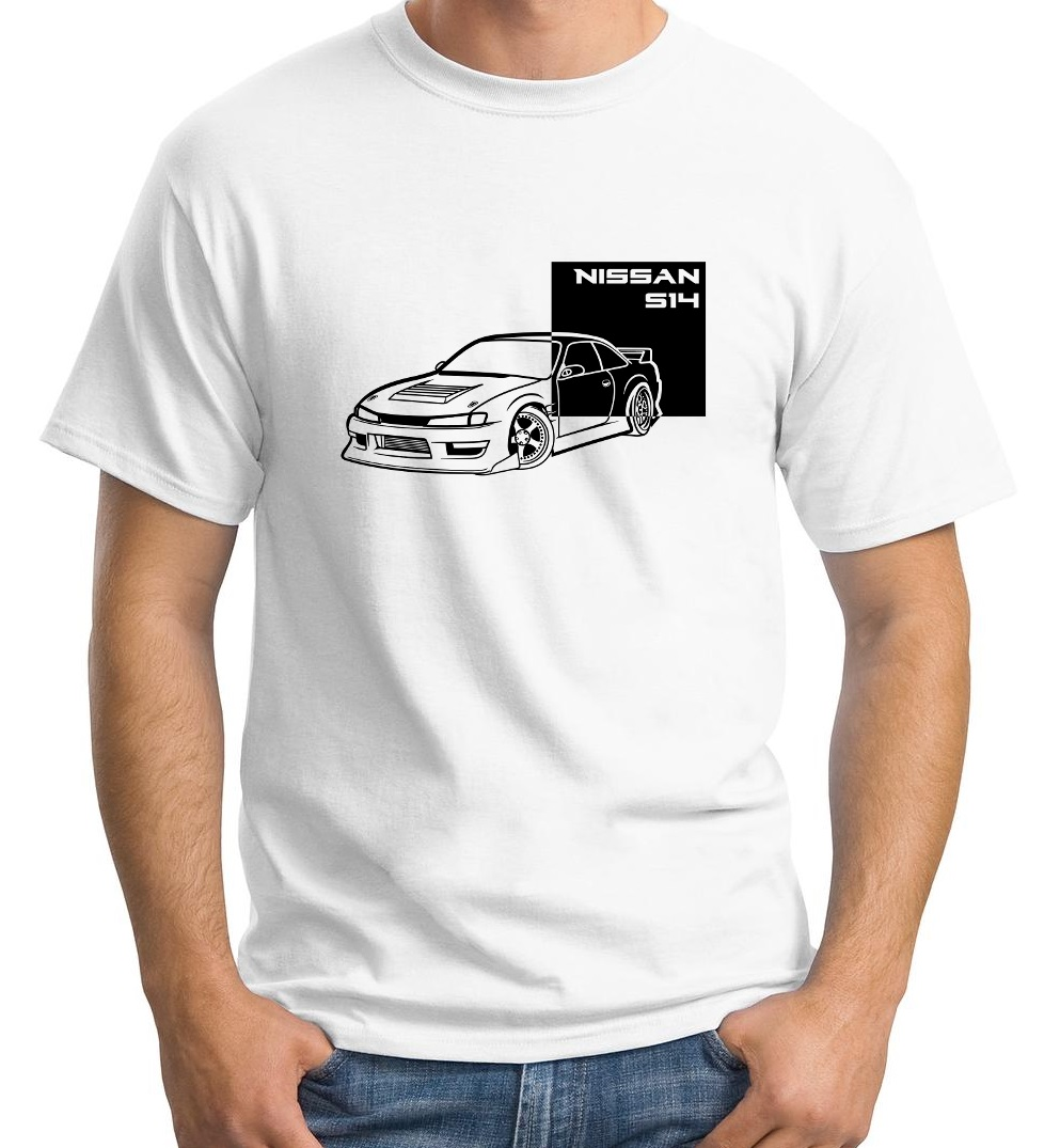 US $12 34 5% OFF|Japan Car 240Sx S14 Kouki Block T Shirt Coil Overs Boost  Exhaust Jdm Parts Body Kit New Clothing Hip Hop Fitness Design Shirt-in