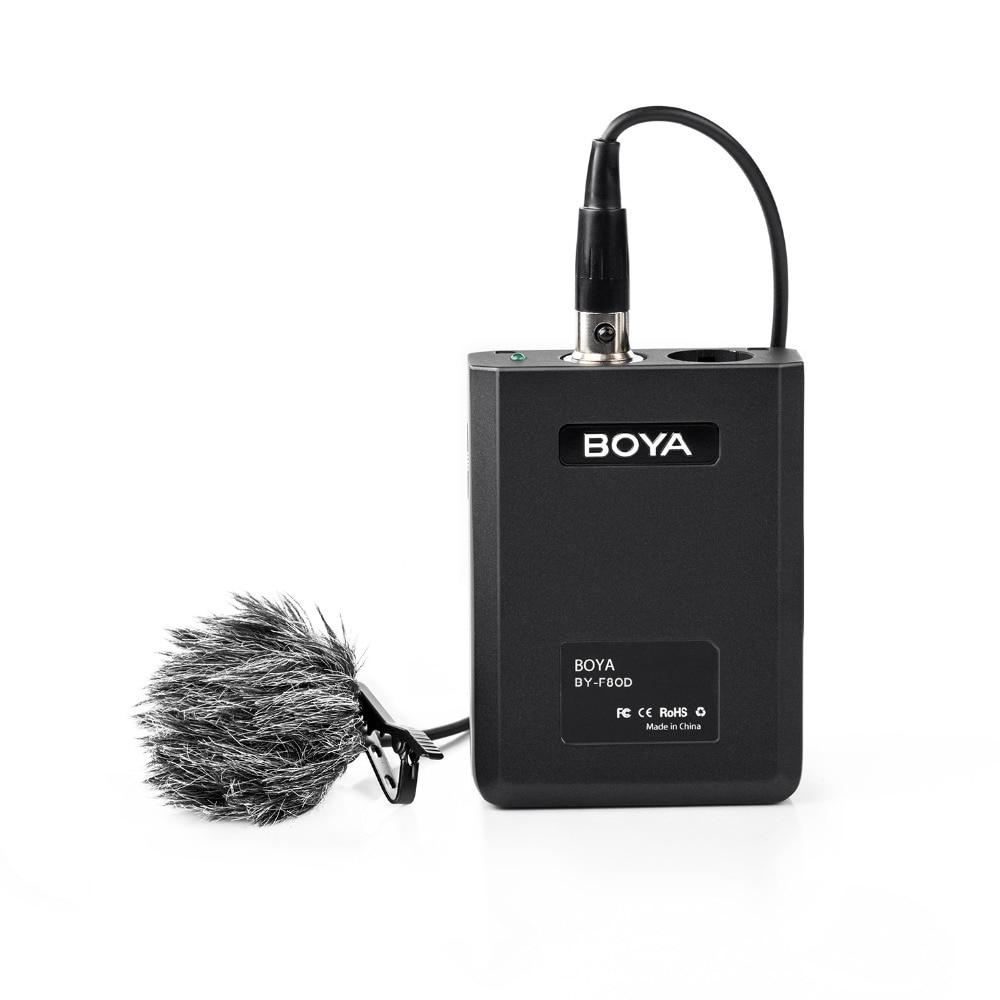 BOYA BY-F8OD XLR Omnidirectionnel Cravate Microphone pour Appareil Photo REFLEX NUMÉRIQUE Sony Panasonic Caméscope Vocal et Acoustique Guitare Vidéo Film