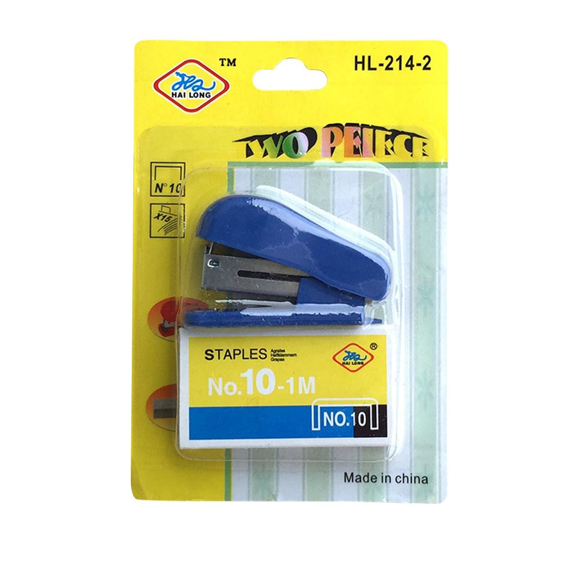FangNymph Useful Mini Stapler Portable Kawaii Super Mini Small Stapler Staples Set Office Binding Stationery Random Color