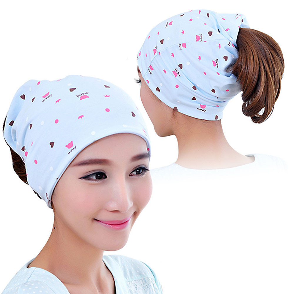 MUQGEW 2017 Sports Headdress Pregnant Mothers Solid Scarf Brand New HOT New Resilient Outdoor Hat Pregnant Women Hairband Cap lady s skullies womail delicate pregnant mothers soft velvet cap maternal prevention wind hat w7