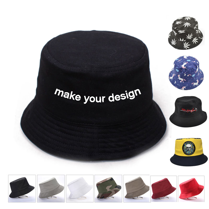 Detail Feedback Questions about wholesale custom bucket hat custom hat cap  make your design and logo embroidery custom full printing hat fishing hat  on ... cdf79a83861c