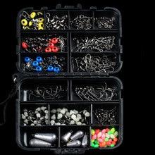 177pcs/lot Luhai Fishing And Fishing Set Box  Tackle Box Sma