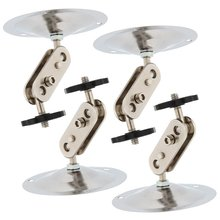 5 Packs Silver Metal Wall Ceiling Mount Stand Bracket for CCTV Security IP Camera 4pcs