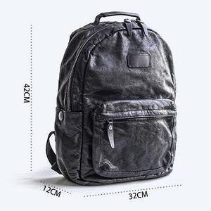 Image 5 - إيتوو حقيبة ظهر عصرية للرجال بطبقات باوتو من الجلد لاتجاه الشارع