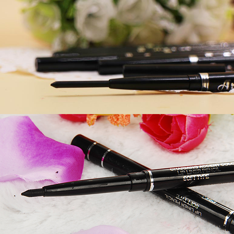 New Fashion High Quality Long Lasting Black Waterproof Eyeliner Pencil Eyeshadow Natural Gift Cosmetic Makeup Pen For Women