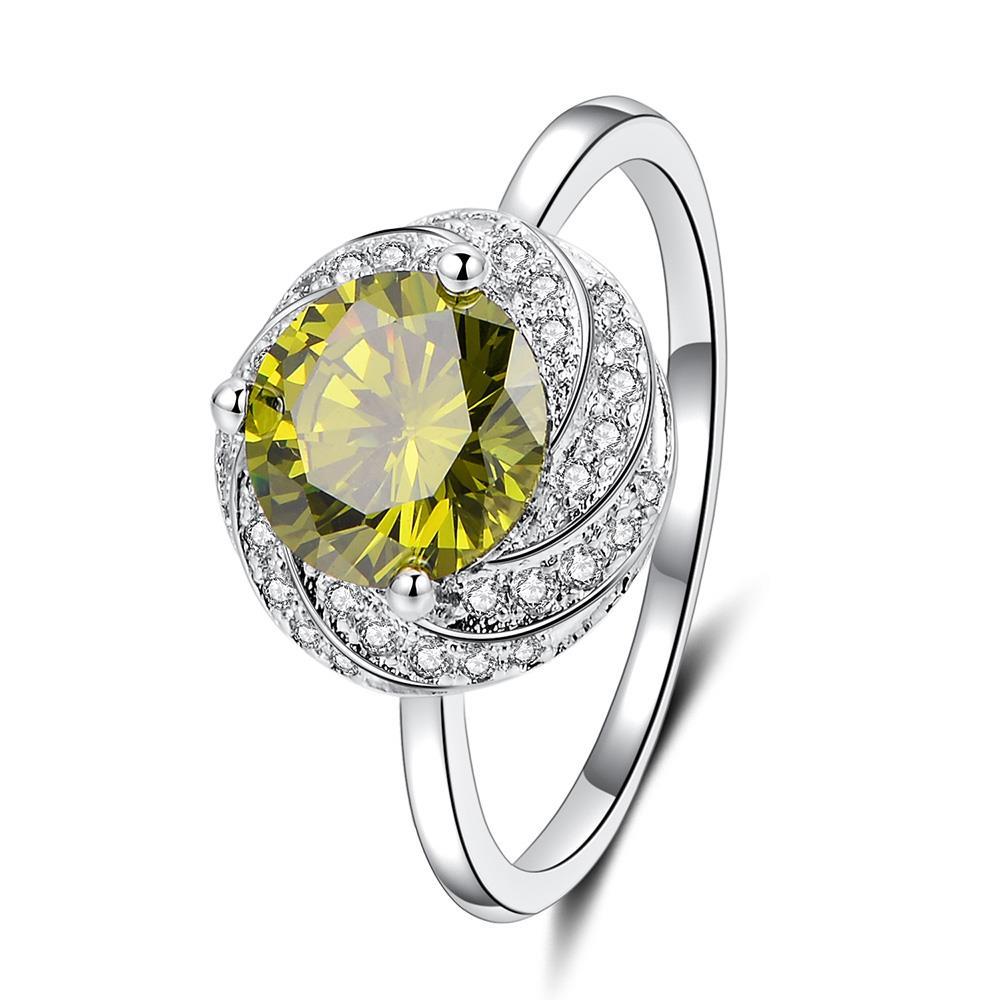 Новые модные обручальные кольца для женщин, обручальное кольцо принцессы, оливково-зеленый красный цвет, цвета шампанского, фиолетовый, роз...
