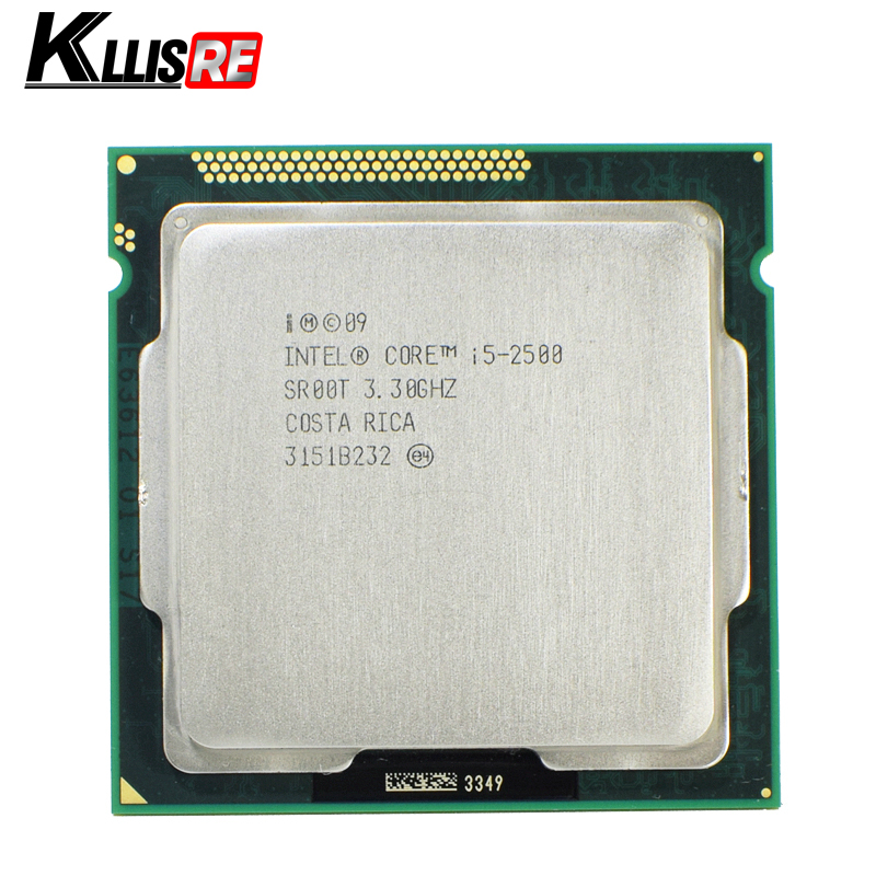 Intel i5 2500 Processor 3.3GHz 6MB L3 Cache Quad-Core TDP:95W LGA1155 Desktop CPU(China)