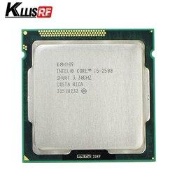 Процессор Intel i5 2500 3,3 ГГц 6 Мб L3 кэш четырехъядерный TDP: 95 Вт LGA1155 настольный процессор