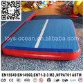 Gymnastics landing mats/folding gymnastics mats/air track inflatable gym mat