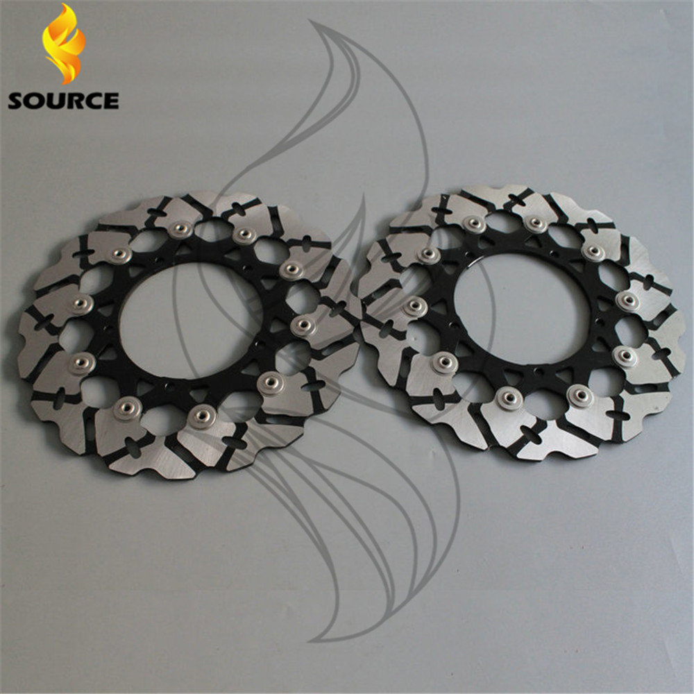 hot selling motorcycle accessories Front Brake Disc Rotor For YAMAHA YZF R6 2005 2006 2007 2008 2009 2010 2011 2012 2013 aftermarket motorcycle parts frame plugs for yamaha 2006 2007 2008 2009 2010 2011 2011 2012 yzf r6 yzf r6