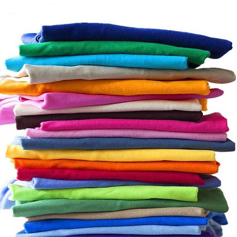 2018 חדש מוצק צבע חולצה Mens שחור ולבן 100% כותנה חולצות קיץ סקייטבורד טי ילד סקייט חולצת טי חולצות