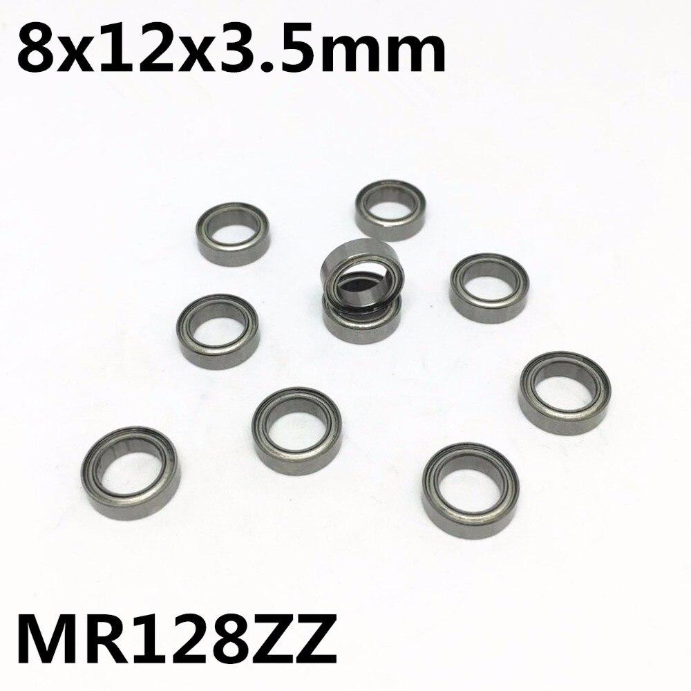 MR128zz 8x12x3.5 Bearing 8*12*3.5 5 PCS Tamiya 1280 Replacement Ball Bearings
