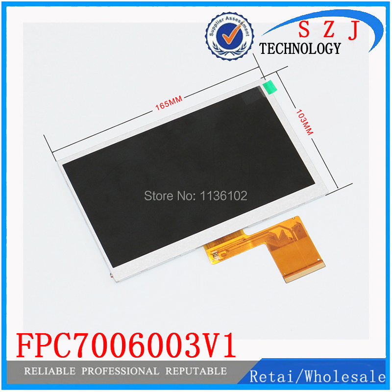 (Ref: FPC7006003V1 ) Original 7 inch LCD screen tablet display FPC7006003V1 Free shipping