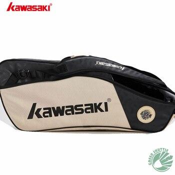 2020 New Kawasaki badminton bag 6 single-shoulder backpacks  racket bags men's and women's sports KBB-8640 8641