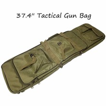 Good Quality 39.4″ Outdoor Military Hunting Backpack Tactical Shotgun Rifle Square Carry Bag Gun Protection Case Backpack