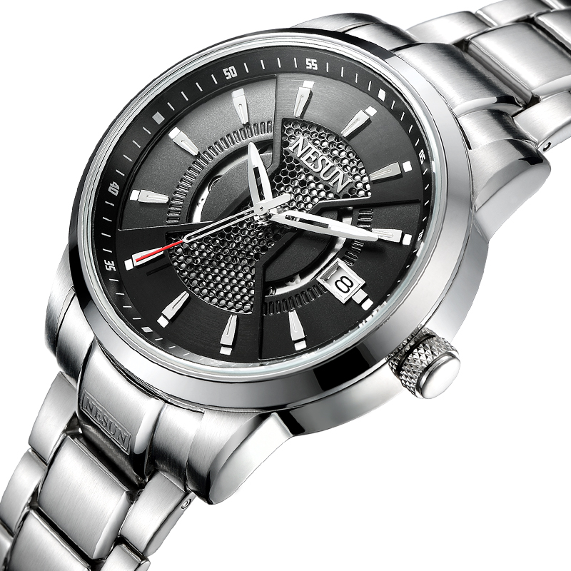 Nesun Watch Men Switzerland Japan Import NH35A Automatic Luxury Brand Mens Watches Sapphire Full Stainless Steel Clock N9207-3Nesun Watch Men Switzerland Japan Import NH35A Automatic Luxury Brand Mens Watches Sapphire Full Stainless Steel Clock N9207-3