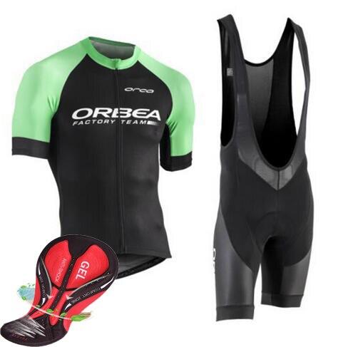 2018 NEU! ORBEA Radtrikot Jersey Ropa De Ciclismo Maillot Radfahren Kleidung Set Bike Wear Gel Pad Atmungs