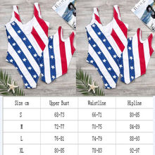 Family Matching Mother Daughter Striped Star Swimwear