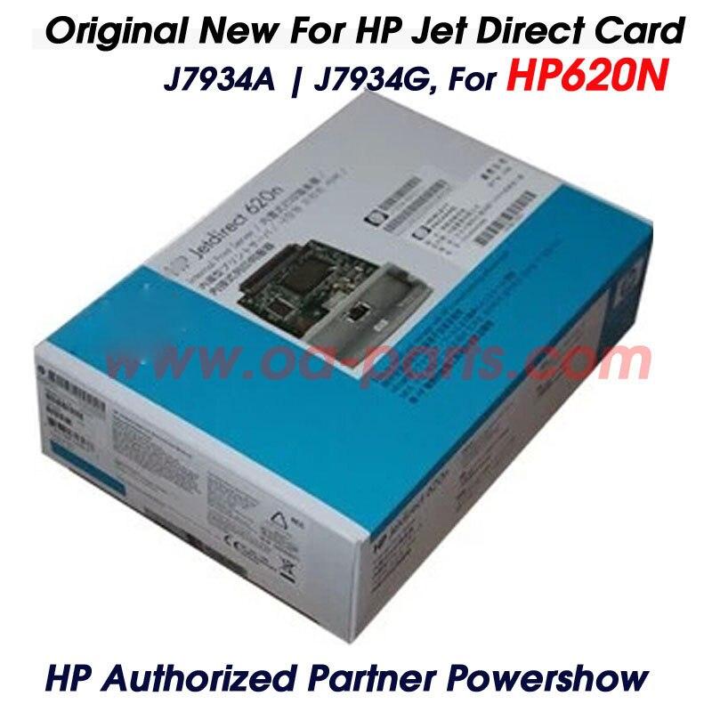 ФОТО Original New JetDirect Card For HP620N HP 620 620N J7934A J7934G  Ethernet Internal Print Server Network Card