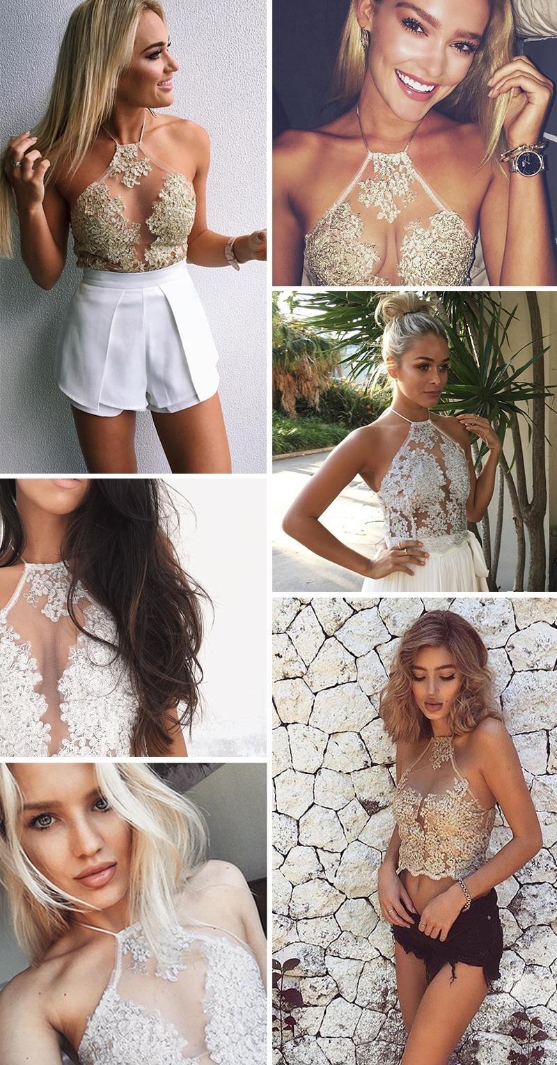 HTB1lQfnJVXXXXcgXpXXq6xXFXXXt - Summer Women Lace Crop Tops Elegant JKP023