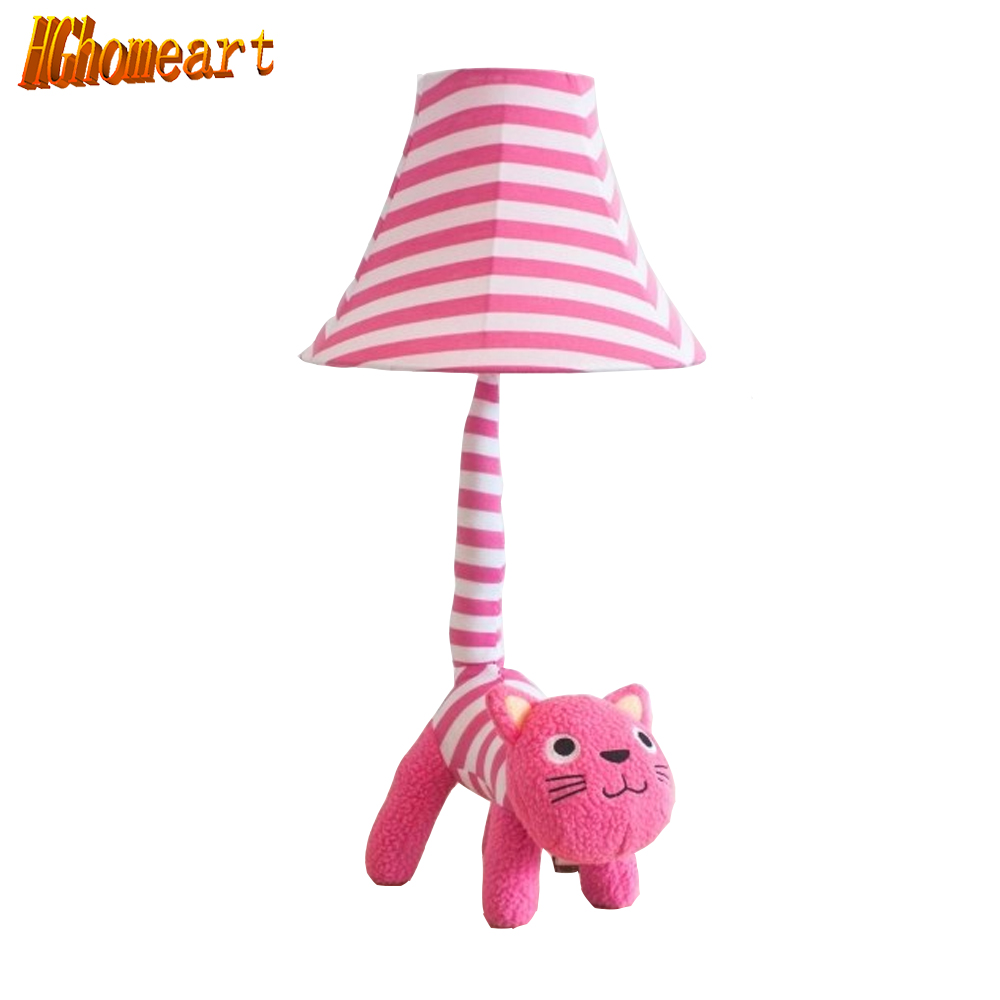 ФОТО Hghomeart Creative Modern Minimalist Table Lamp Decoration Storefront In A Row Cat Doll Birthday