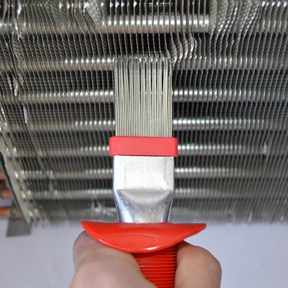Ev ve Bahçe'ten Temizlik Fırçaları'de Evrensel Soğutma HVAC Fin Tarak Doğrultma Temizleme Fırçası Tırmık