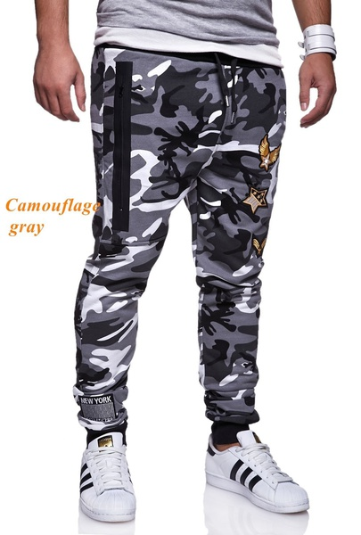 ZOGAA Mens Camouflage Tactical Cargo Pants Men Joggers Boost Military Casual Cotton Pants Hip Hop Ribbon Male army Trousers in Skinny Pants from Men 39 s Clothing