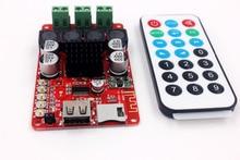 TPA3116 50W + 50W Bluetooth Empfänger Verstärker Bord Audio Musik Empfänger TF karte U flash disk dekodierung player mit fernbedienung