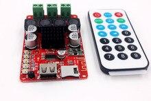 TPA3116 50W + 50W Ricevitore Bluetooth Scheda di Amplificazione Audio Ricevente di Musica della carta di TF U flash disk lettore decodifica con telecomando di controllo