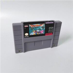Image 2 - Dragon Quest I & II ou Dragon Quest III V VI Dragon View carte de jeu RPG Version américaine économie de batterie en langue anglaise