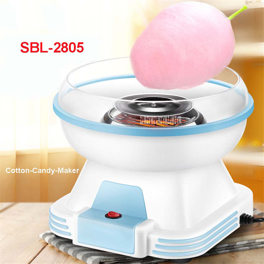 SBL-2805 New Model Automatic Mini Portable Electric DIY Cotton Candy Maker sweet sugar candy sugar candy wires and embroidery new sugar and spice the