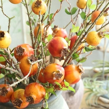 1 Pc Simulation Artificial Pomegranate Branch Artificial Branch for Decoration Foam Pomegranate Bouquet Fake Pomegranate Bush