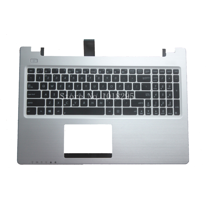 English Keyboard for ASUS K56 K56C K56CA K56CM US laptop keyboad Palmrest Cover