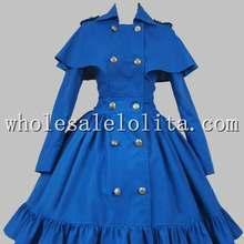 Готическая викторианская Лолита S tea mpunk хлопок накидка пальто платье Лолита канал А-силуэт 4XL для продажи платья для чаепития