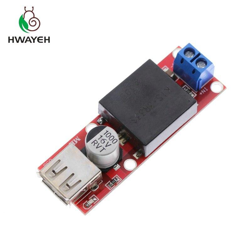 8a97bb5db8d 1Pcs 5V USB Output Converter DC 7V-24V To 5V 3A Step Down Buck KIS3R33S  Module KIS-3R33S DropShipping30488
