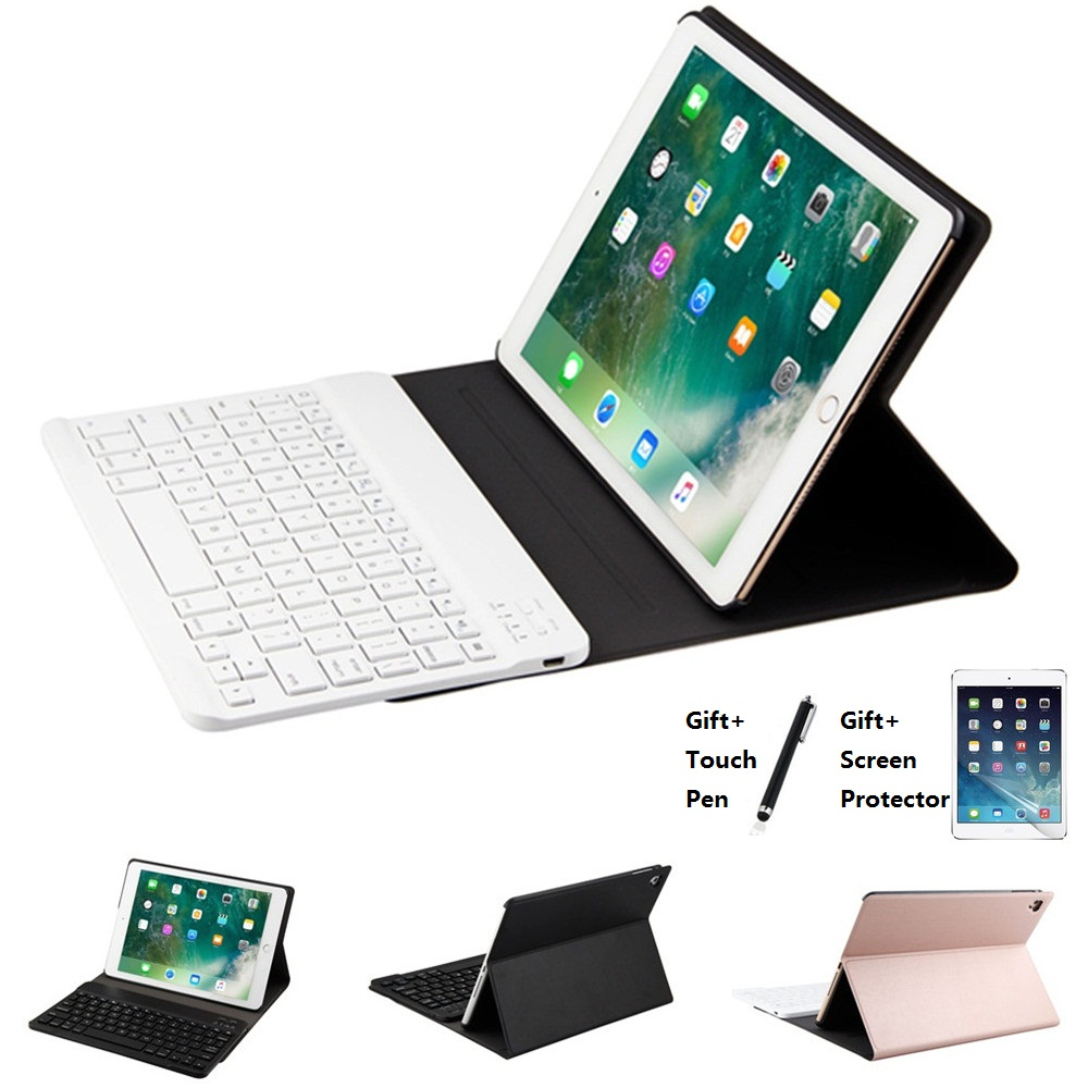 Ultra thin Wireless Bluetooth Keyboard Case Cover For iPad Mini 123 Air 1 2 New iPad 2017 2018 9.7 Case Pro 9.7 10.5 11 inch
