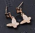 Guarantee Plain 925 Sterling Silver , CZ , Cubic  Star Earrings, 1.6 g, EA31150