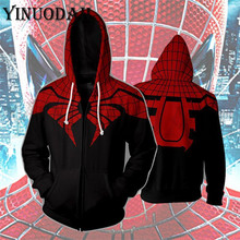 Winter Men Marvel Comics Spiderman Hoodie Sweatshirts Women Autumn Funny Print Hoodies 3d Harajuku