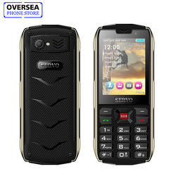 SERVO H8 Mobile Phone 2.8Inch 4 SIM Cards 4 Standby Bluetooth Flashlight GPRS 3000mAh Power Bank Phone Russian Language Keyboard