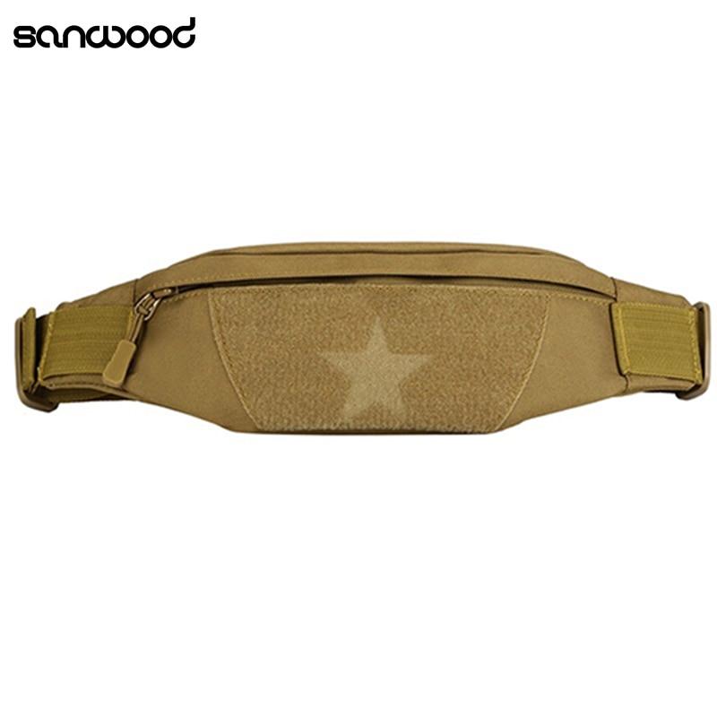 Waterproof Travel Phone Fanny Pack Waist Pouch Bag Luxury Brand Crossbody Messager Bag Adjustable Belt Men Shoulder Bag Fashion
