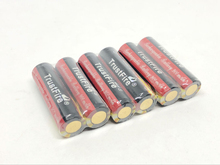 8pcs/lot TrustFire AA 14500 3.7V 900mAh Lithium Battery Colorful Rechargeable Batteries with PCB Protection Board For Flashlight