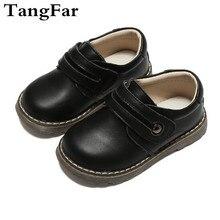 Детская обувь из натуральной кожи, непромокаемые черные и белые детские лоферы, милая обувь на плоской подошве, кроссовки, Новое поступление