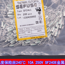 SF240E Thermal Cutoffs SEFUSE Thermal Fuse