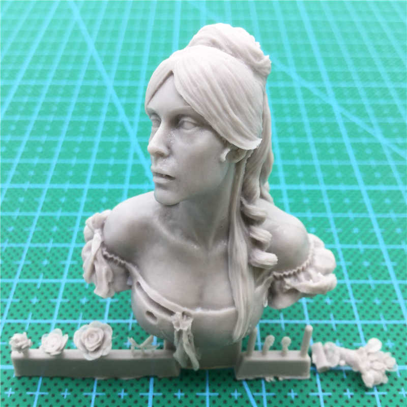 1/12 zestaw modeli do składania biustu z żywicy kobieta Vampire science fiction niepomalowane i niezmontowane X46