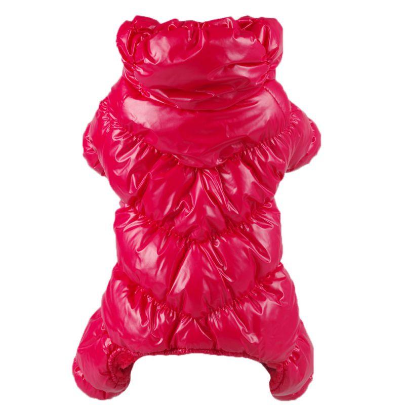Pet Dog Jumpsuit Warm Track Suit Puppy Jacket Coat Winter Warm Clothing